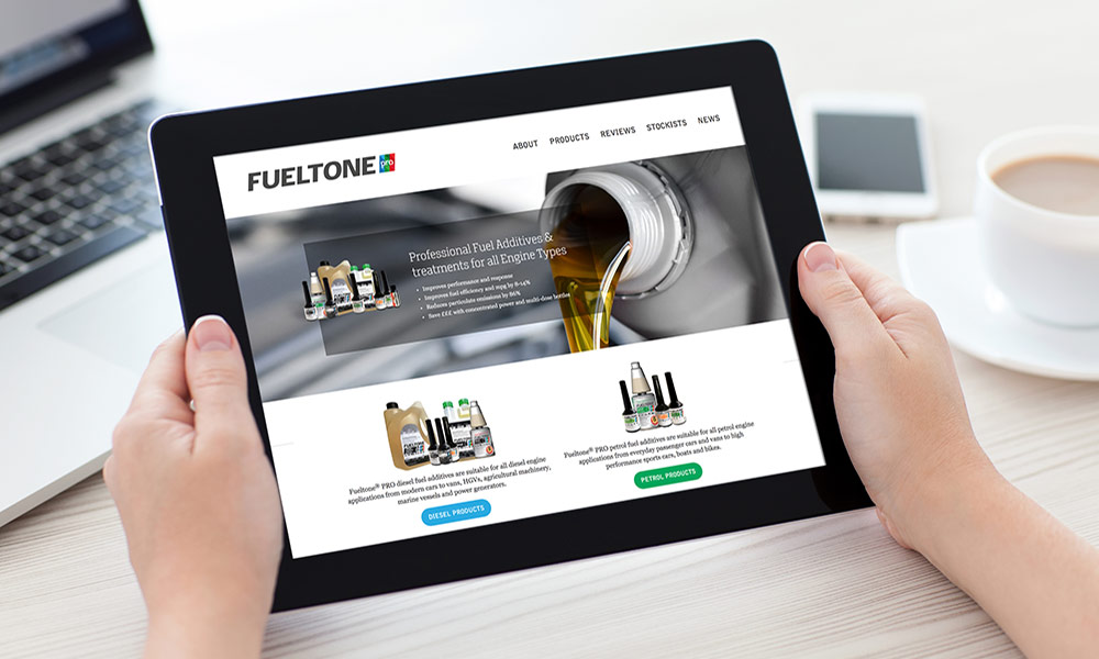 Brand development for Fueltone PRO